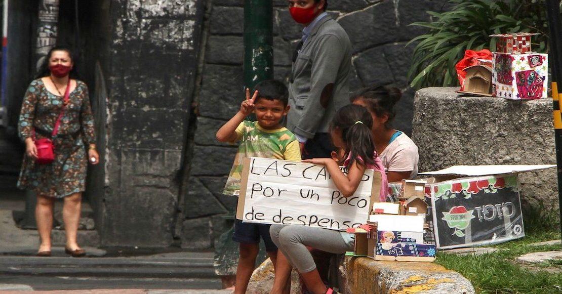 Pobreza sube por Covid-19; alcanza a 54% de población