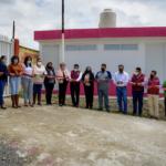 """Inaugura Lupita Daniel, módulos sanitarios en la Primaria """"Tierra y Libertad"""" en Geo Villas San Jacinto"""