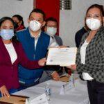 Encabeza Lupita Daniel, entrega de certificados de Primaria y Secundaria del IEEA