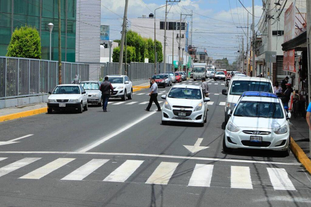 Relamina Ayuntamiento de Puebla dos vialidades en San Alejandro