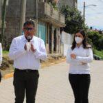 Ayuntamiento de Puebla entrega obras de MÁS Juntas Auxiliares en San Jerónimo Caleras y Hueyotlipan